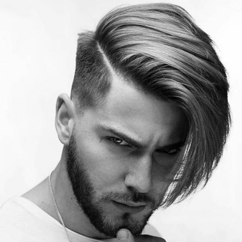 8+ One Side Long Hairstyle For Man – Long Hairstyle – Beautiful Intended For One Side Long Hairstyles (View 2 of 25)