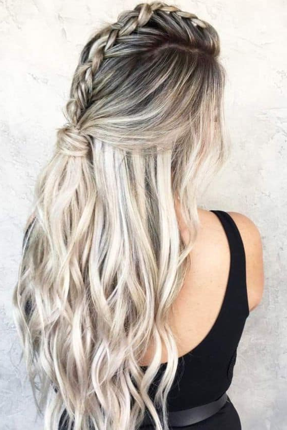 8 Perfect Half Up Half Down Ponytail For Every Occasion inside Curly Half-Updo With Ponytail Braids