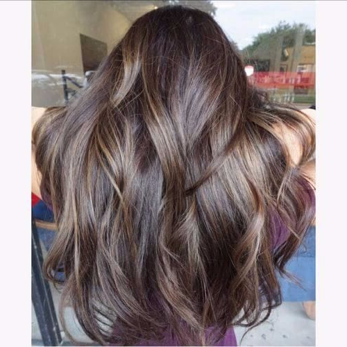 80 Balayage Highlight Ideas For Every Hair Color | Hair Motive Hair With Light Layers Hairstyles Enhanced By Color (View 25 of 25)