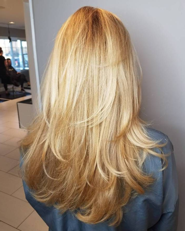 80 Cute Layered Hairstyles And Cuts For Long Hair | Beauty | Long Within Brown Blonde Hair With Long Layers Hairstyles (View 4 of 25)