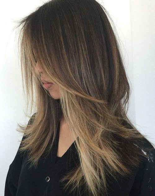 80 Cute Layered Hairstyles And Cuts For Long Hair   Hair Color Inside Long Choppy Haircuts With A Sprinkling Of Layers (View 4 of 25)