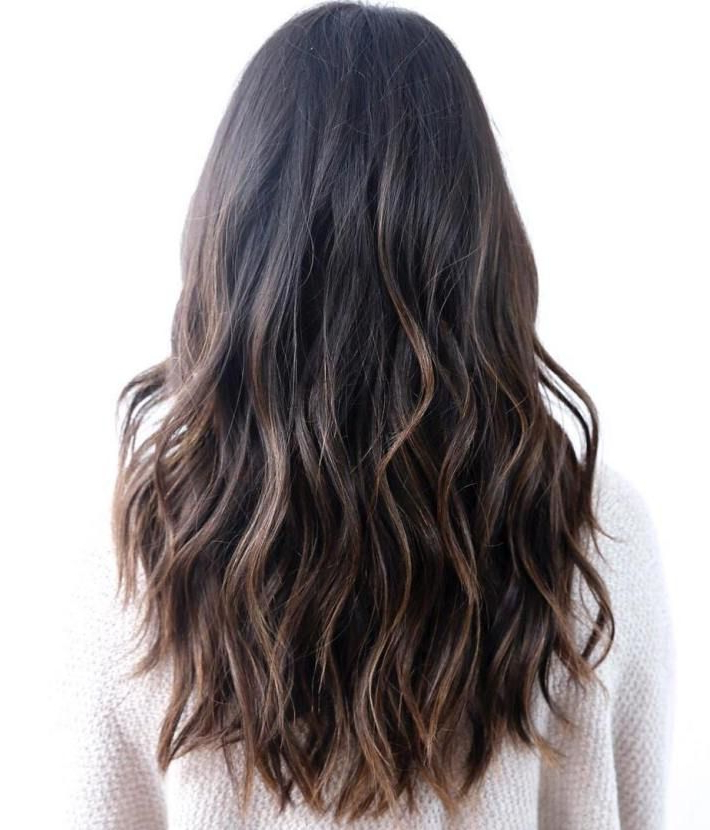 80 Cute Layered Hairstyles And Cuts For Long Hair | Hair | Long Hair pertaining to Choppy Dimensional Layers For Balayage Long Hairstyles