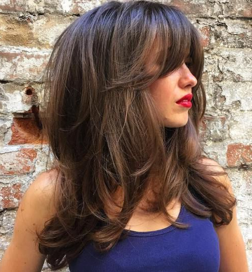 80 Cute Layered Hairstyles And Cuts For Long Hair | Hair | Long Hair throughout Long Haircuts Layered With Bangs
