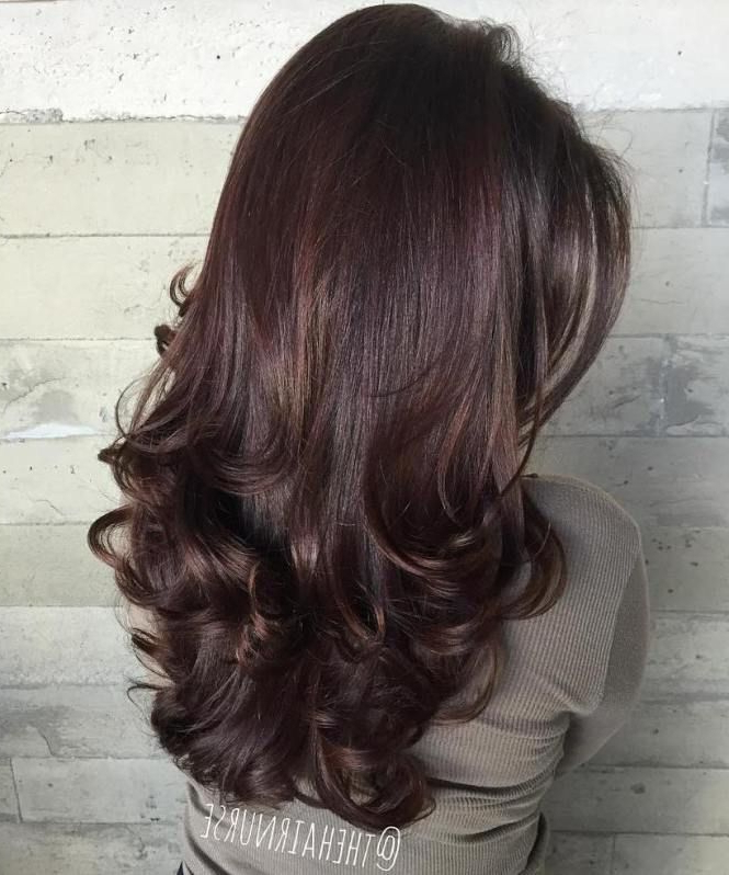 80 Cute Layered Hairstyles And Cuts For Long Hair | Hair | Long Hair with regard to Long Layered Half-Curled Hairstyles