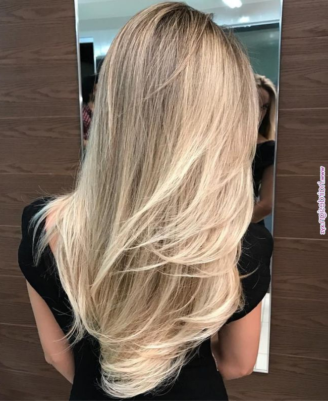 80 Cute Layered Hairstyles And Cuts For Long Hair | Hairstyles, Hair intended for Light Layers Hairstyles Enhanced By Color