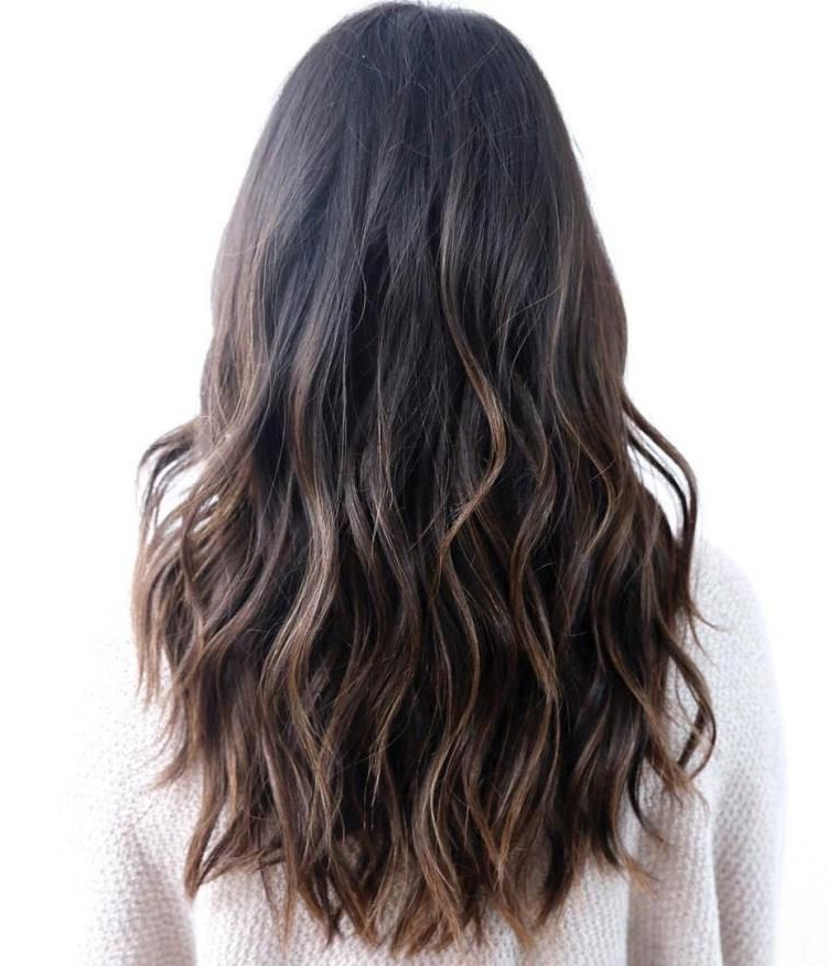 80 Cute Layered Hairstyles And Cuts For Long Hair | Hairstyles In Black And Brown Layered Haircuts For Long Hair (View 3 of 25)