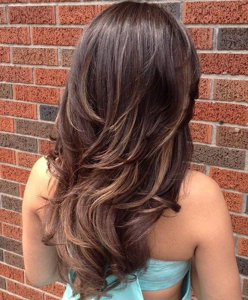 Featured Photo of Edgy V Line Layers For Long Hairstyles