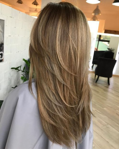 80 Cute Layered Hairstyles And Cuts For Long Hair In 2019 | Hair intended for Wrapping Feathered Layers Hairstyles Along The Sides