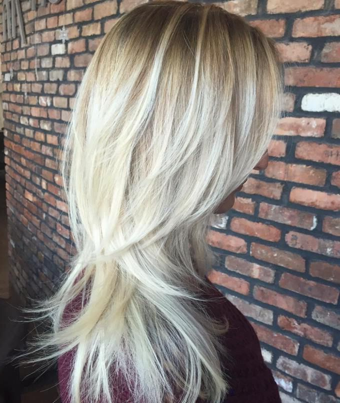 80 Cute Layered Hairstyles And Cuts For Long Hair In 2019 | Hair Within Brown Blonde Hair With Long Layers Hairstyles (View 2 of 25)
