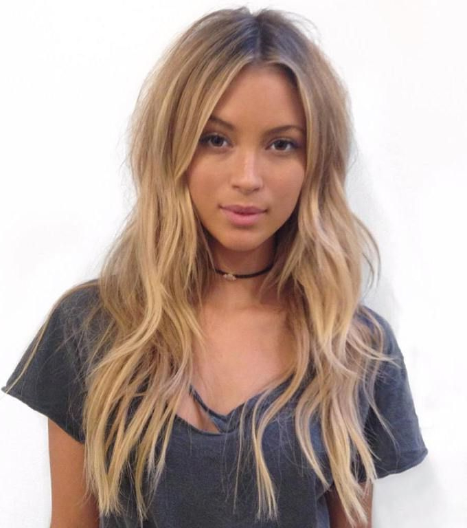 80 Cute Layered Hairstyles And Cuts For Long Hair In 2019   Hair Within Long Haircuts For Long Face (View 3 of 25)