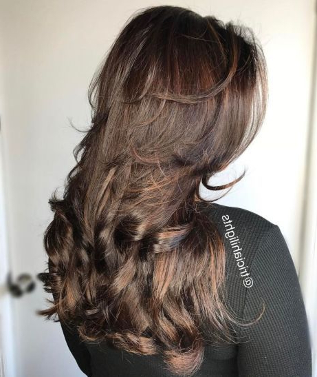 80 Cute Layered Hairstyles And Cuts For Long Hair In 2019 | Lovely inside Straight Across Haircuts And Varied Layers