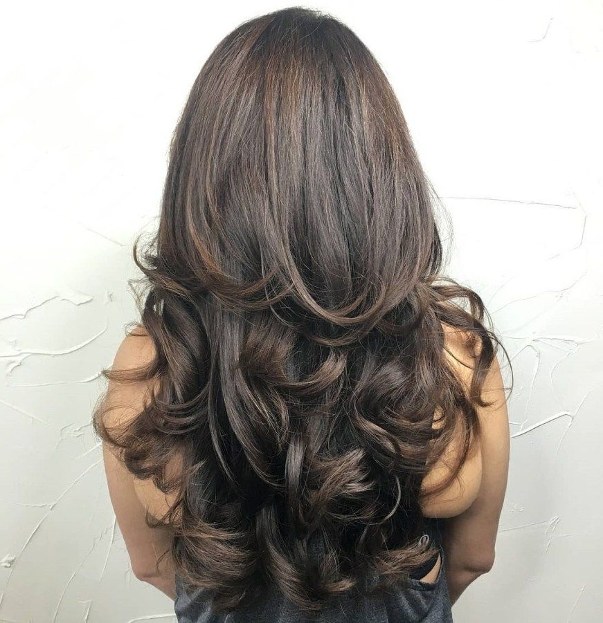 Featured Photo of Long Layered Half Curled Hairstyles