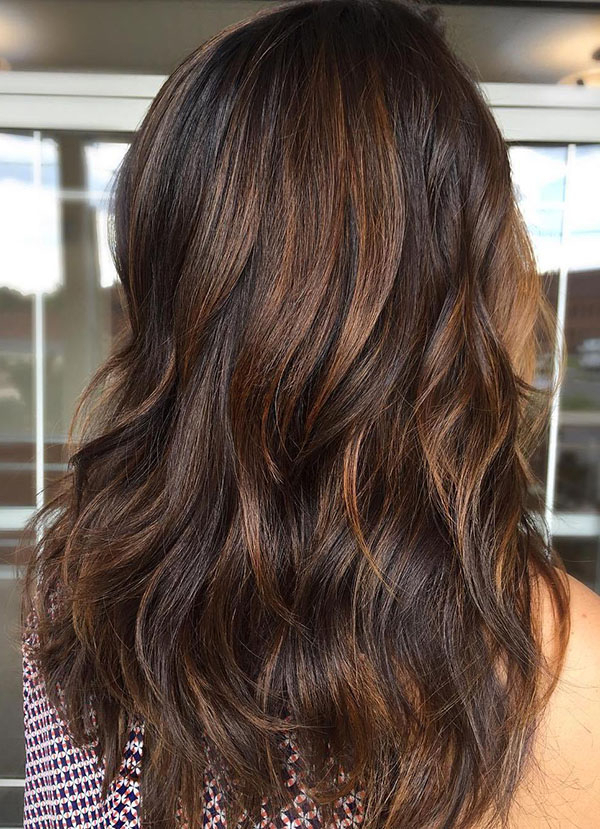80 Cute Layered Hairstyles And Cuts For Long Hair – Page 5 – Foliver throughout Long Jagged Hairstyles