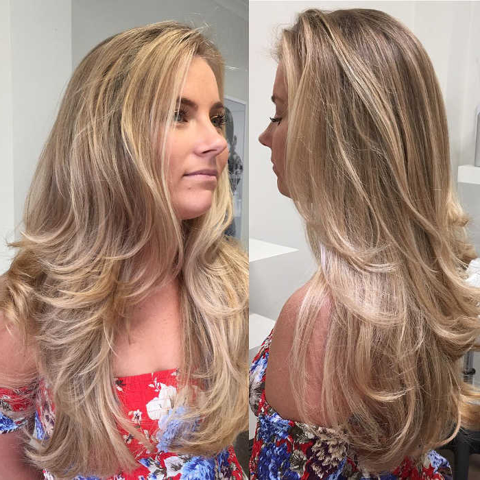 80 Glamorized Layered Hairstyles And Haircuts For Women - Hairsdos within Messy Haircuts With Randomly Chopped Layers