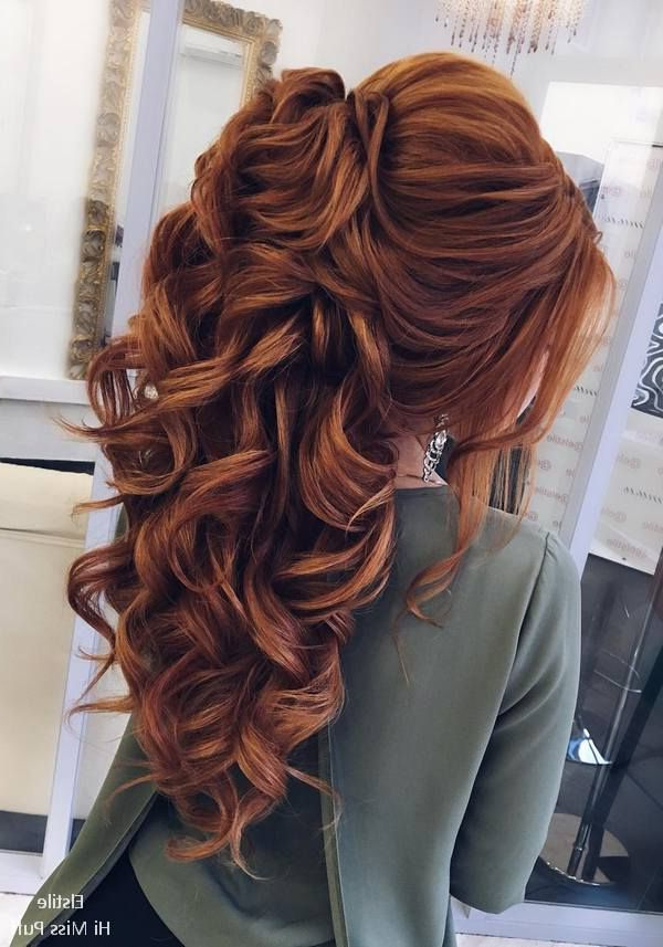 80 Gorgeous Wedding Hairstyles For Long Hair | Hair Cut Styles With Long Hairstyles Unique (View 24 of 25)