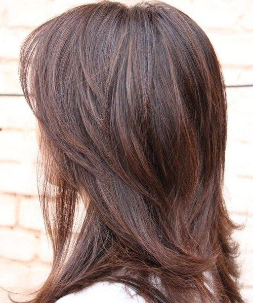 80 Sensational Medium Length Haircuts For Thick Hair In 2019 | My inside Long Haircuts For Thick Hair