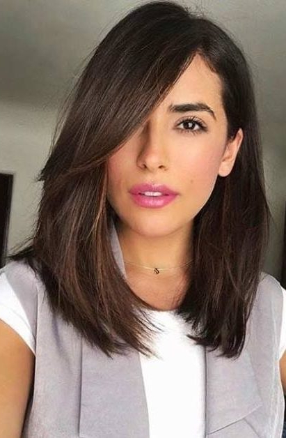 80 Sexy Long Bob Hairstyles You Should Try – Lob Ideas For 2019 In Long Hairstyles Bob (View 14 of 25)