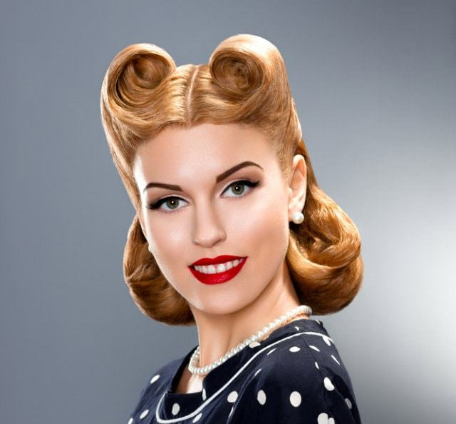 81 Easy Vintage Hairstyles For Glamourous Women – Hairstylecamp within Vintage Hair Styles For Long Hair