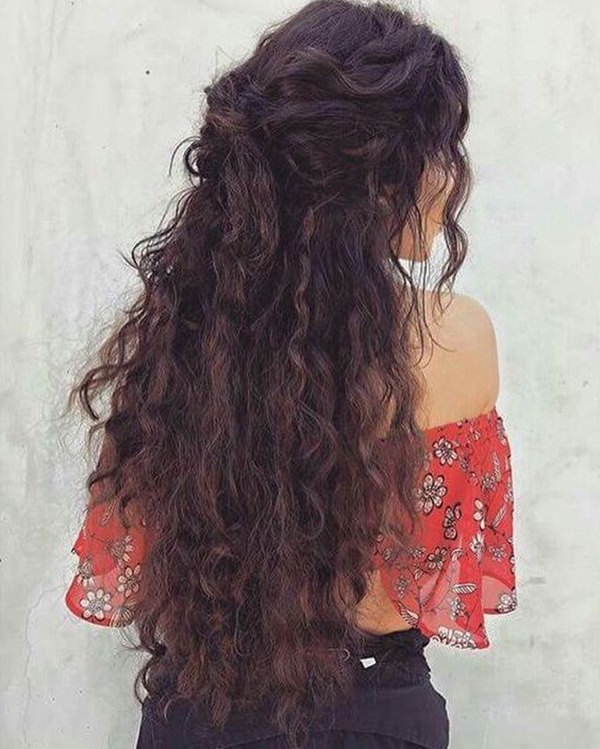 81 Stunning Curly Hairstyles For 2019-Short,medium & Long Curly for Long Hairstyles For Naturally Curly Hair