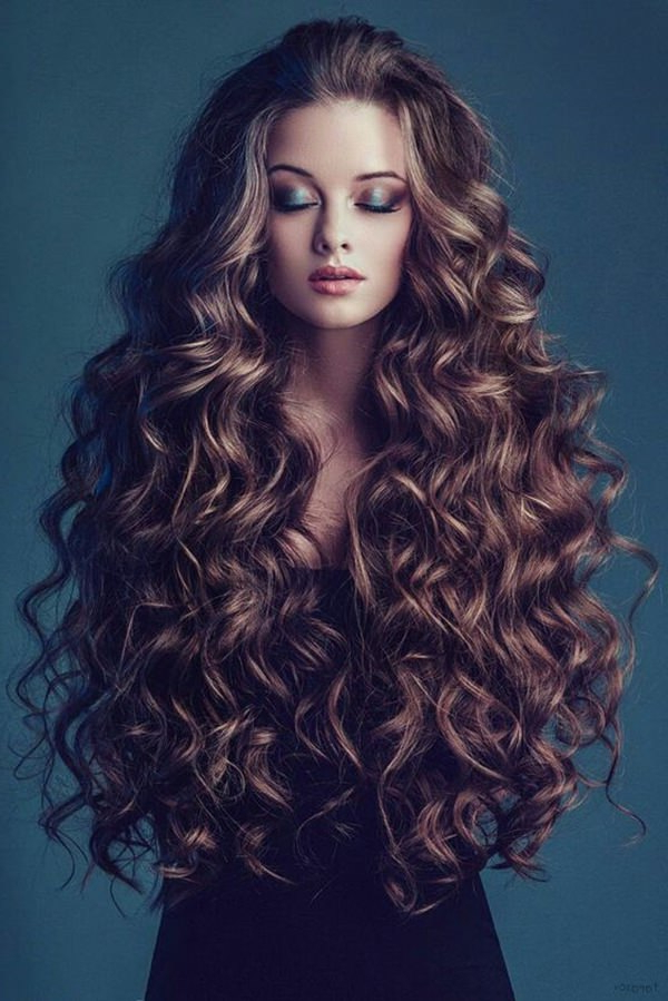81 Stunning Curly Hairstyles For 2019-Short,medium & Long Curly with Curly Long Hairstyles With Bangs