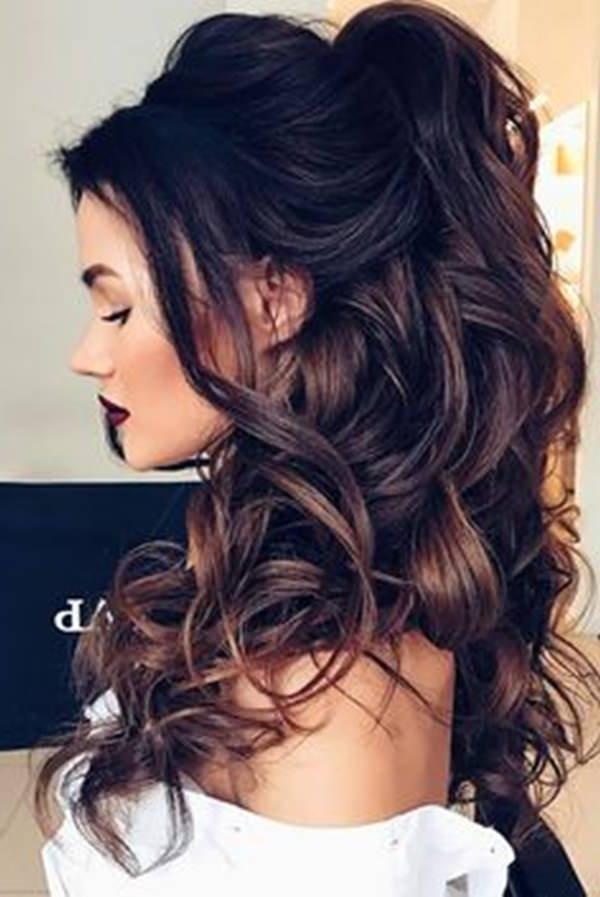 81 Stunning Curly Hairstyles For 2019-Short,medium & Long Curly with regard to Long Layered Half-Curled Hairstyles