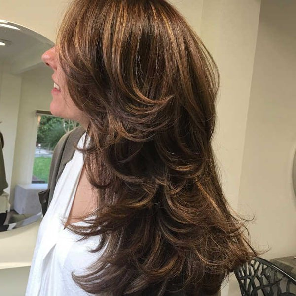 84 Fun Layered Haircut Ideas For Long Hair - Style Easily regarding Long Hairstyles Lots Of Layers