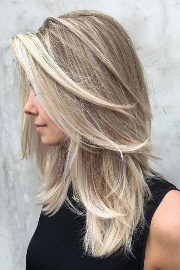84 Fun Layered Haircut Ideas For Long Hair – Style Easily With Classy Layers For U Shaped Haircuts (View 25 of 25)