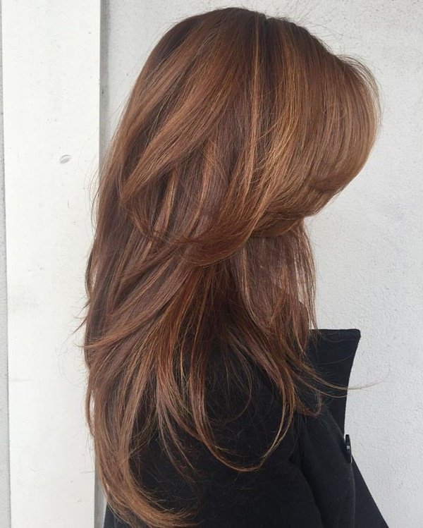 84 Fun Layered Haircut Ideas For Long Hair – Style Easily With Long Layered Hairstyles (View 25 of 25)