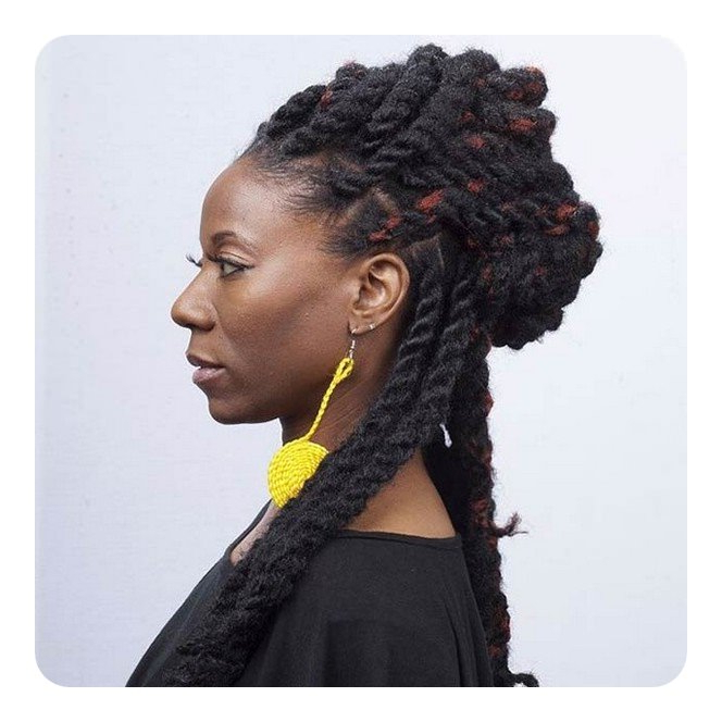 84 Sexy Kinky Twist Hairstyles To Try This Year In Long Kinky Hairstyles (View 7 of 25)
