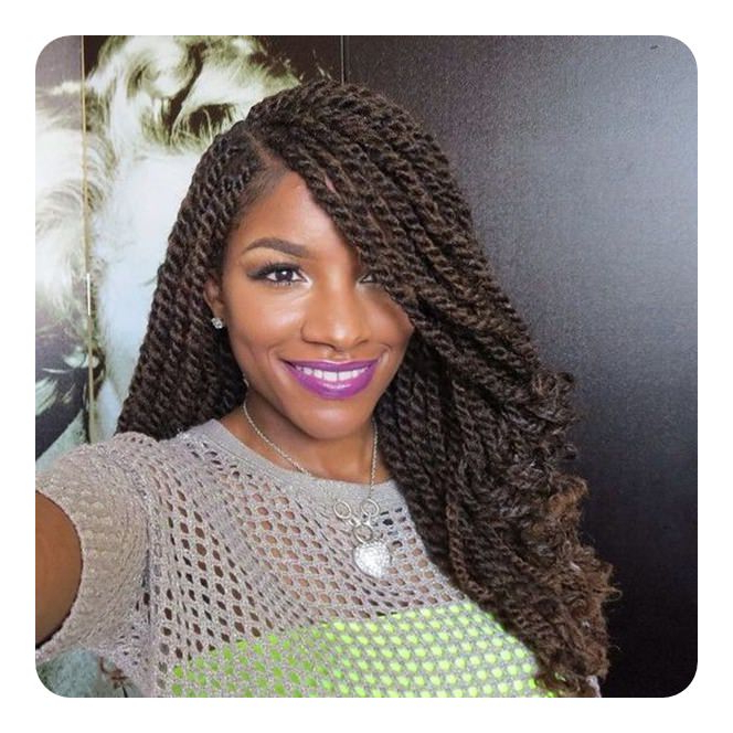 84 Sexy Kinky Twist Hairstyles To Try This Year Regarding Long Kinky Hairstyles (View 23 of 25)