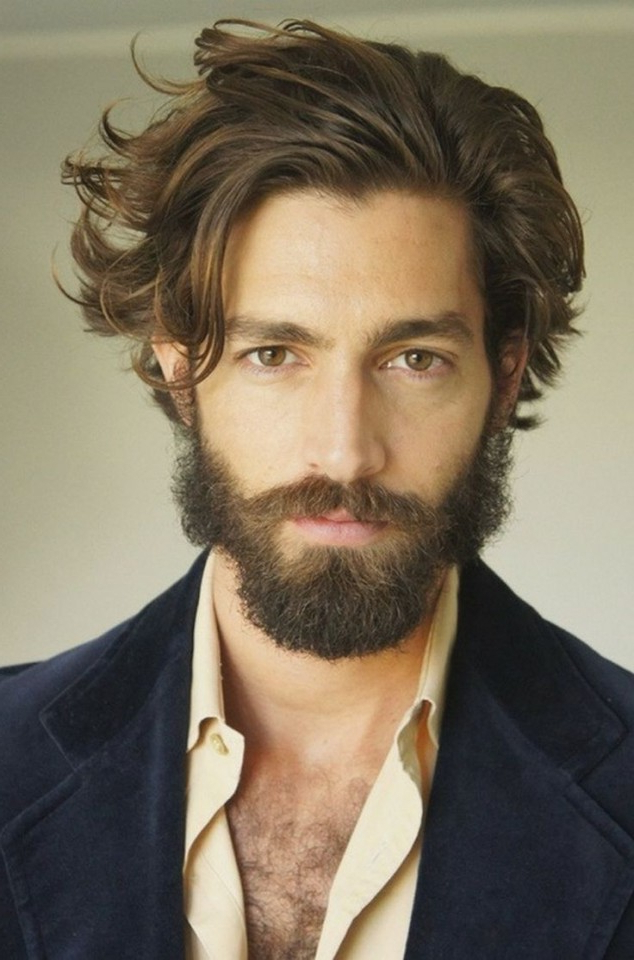 85 Coolest Mid Length Hairstyles That Won't Make You Look Messy With Regard To Medium Long Hairstyles For Men (View 11 of 25)