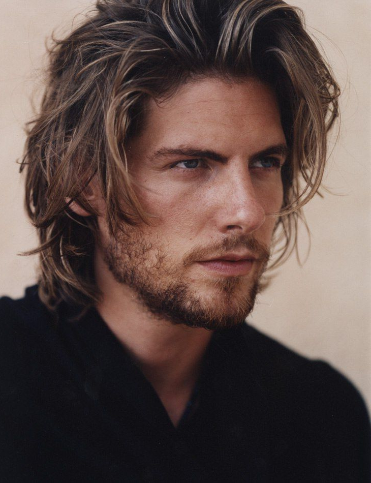 85 Coolest Mid Length Hairstyles That Won't Make You Look Messy Within Medium Long Hairstyles For Guys (View 11 of 25)