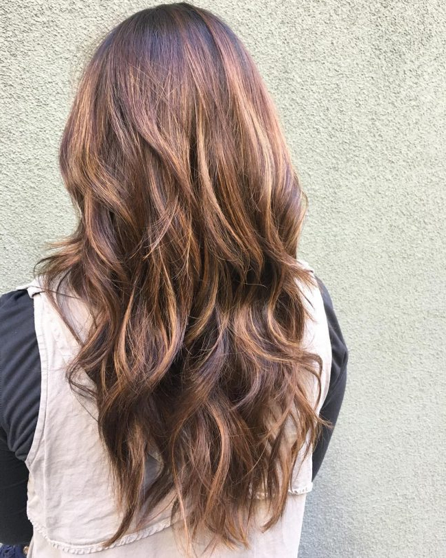 85 Gorgeous Long Layered Hairstyles – Pretty And Chic Looks Throughout Long Texture Revealing Layers Hairstyles (View 22 of 25)
