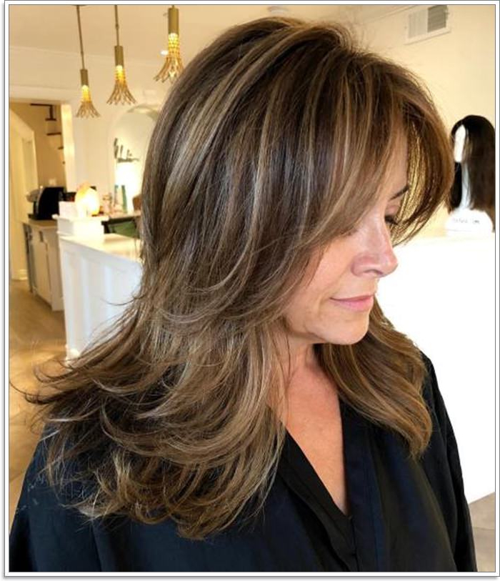 87 Lovely Hairstyles For Women Over 40 Intended For Long Hairstyles In Your 40S (View 13 of 25)