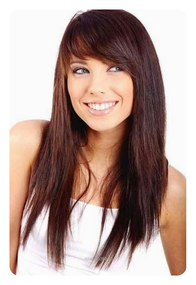 88 Beautiful And Flattering Haircuts For Oval Faces With Long Haircuts For Oval Faces (View 11 of 25)