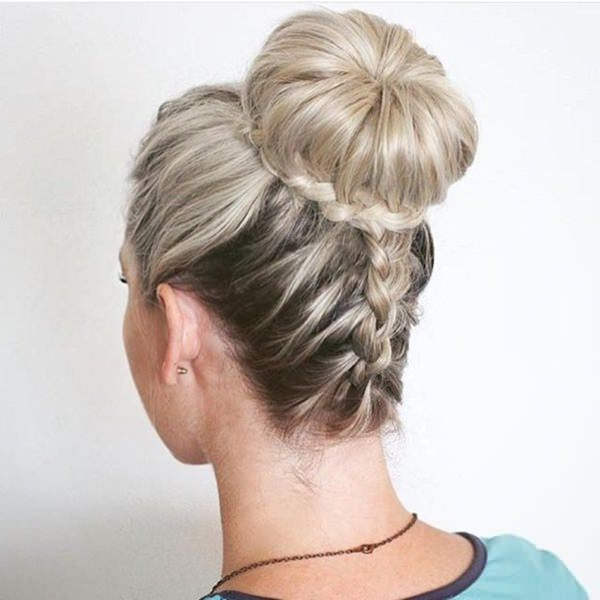 89 Wonderful Prom Hairstyles To Rock Your Next Special Prom - Stylying in Fancy Knot Prom Hairstyles
