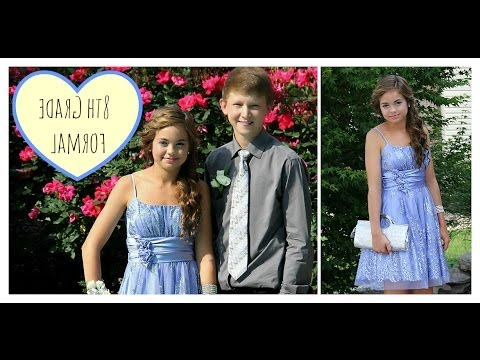 8Th Grade Formal Dance Hair, & Dress! ? – Youtube Regarding 8Th Grade Graduation Hairstyles For Long Hair (View 12 of 25)