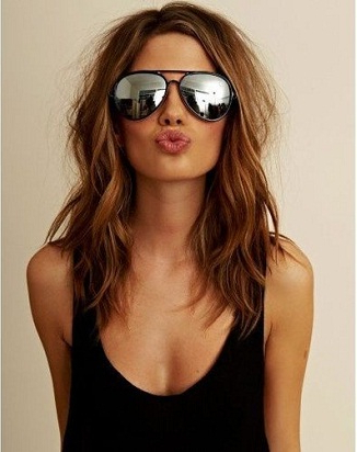 9 Best Hairstyles For Thin Faces | Styles At Life Throughout Hairstyles For Thin Faces With Long Hair (View 9 of 25)