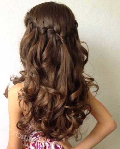 9 Easy Party Hairstyles For Your Little Princess, Little Girls With Regard To Long Hairstyles For Party (View 3 of 25)