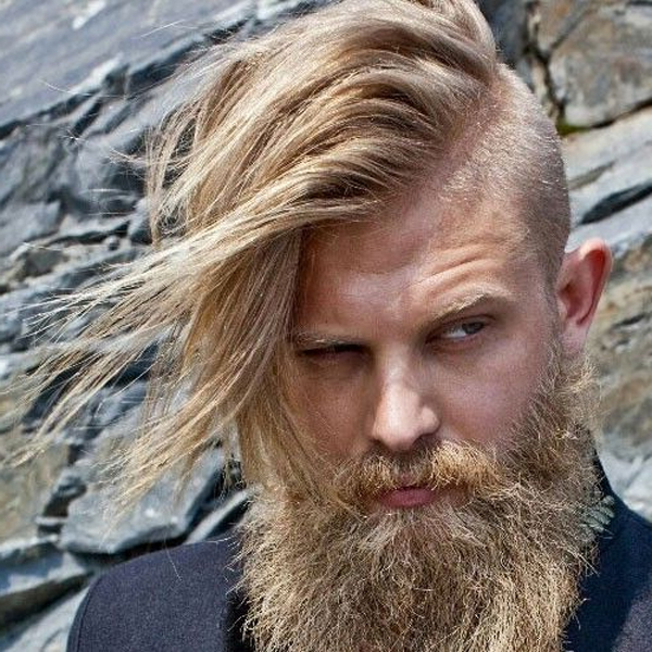 9 New Shaved Sides Hairstyles For Men And Women To Look Unique For Hairstyles For Long Hair Shaved Side (View 12 of 25)