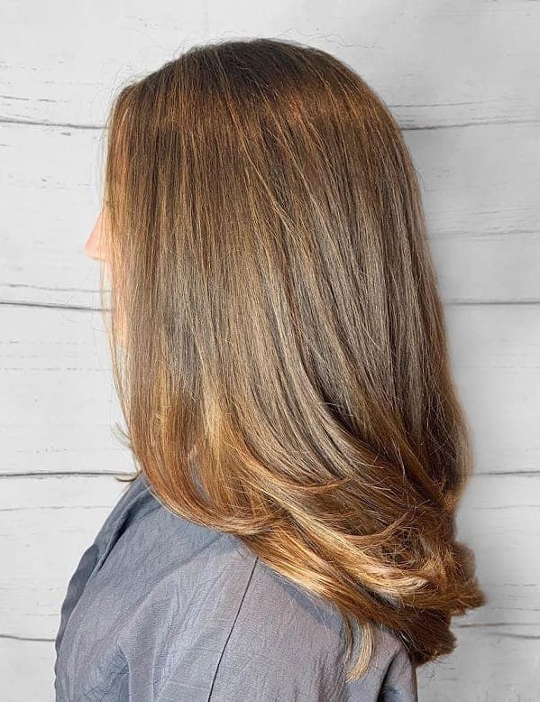 90 Artistic Medium Layered Hairstyles For Women – Hairstylecamp Intended For Medium Long Haircuts (View 17 of 25)