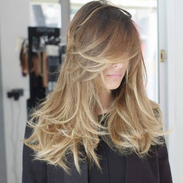 90 Best Long Layered Haircuts – Hairstyles For Long Hair 2019 Within Razored Layers Long Hairstyles (View 14 of 25)