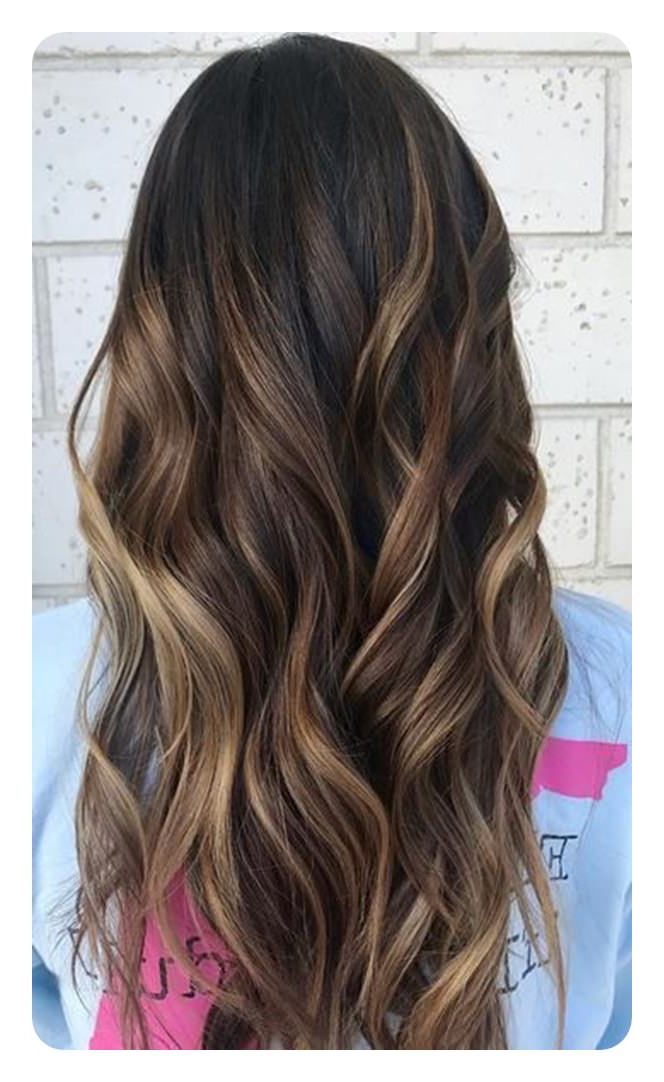 90 Highlights For Black Hair That Looks Good On Anyone – Style Easily For Highlights For Long Hair (View 12 of 25)