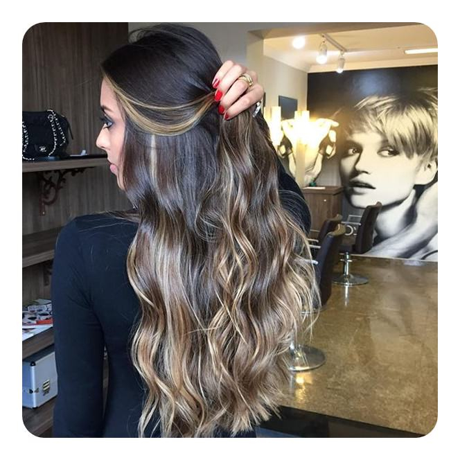 90 Highlights For Black Hair That Looks Good On Anyone – Style Easily Regarding Highlights For Long Hair (View 24 of 25)