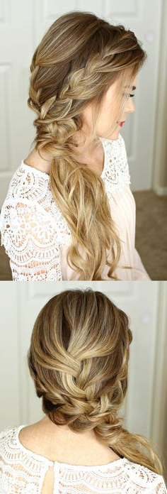 92 Awesome Fav Hair Images | Hair, Makeup, Hair Coloring, Haircolor Throughout Dishevelled Side Tuft Prom Hairstyles (View 19 of 25)