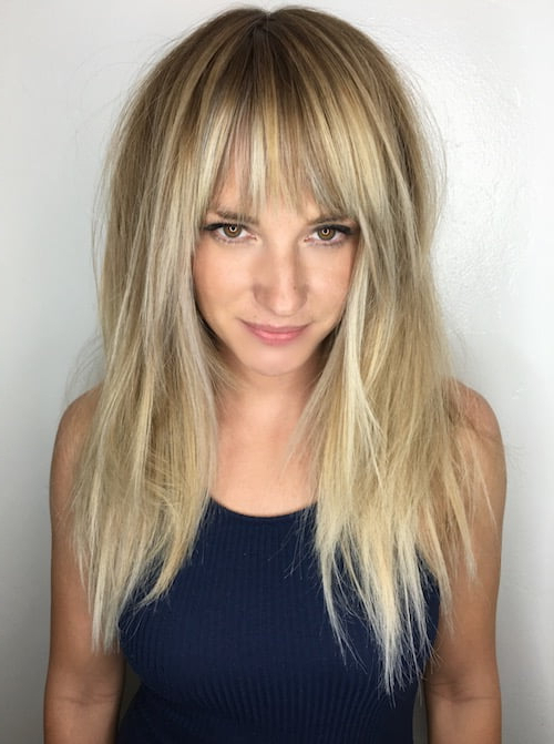 93 Of The Best Hairstyles For Fine Thin Hair For 2019 With Regard To Trendy Long Hairstyles With Bangs (View 12 of 25)