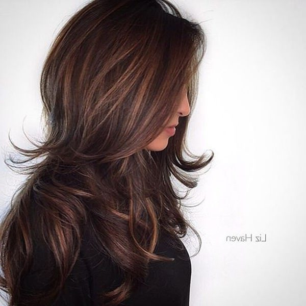 94 Layered Hairstyles And Haircuts For Every Hair Type For Swoopy Flipped Layers For Long Hairstyles (View 22 of 25)
