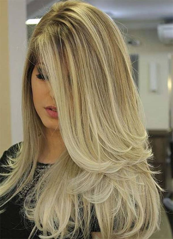 94 Layered Hairstyles And Haircuts For Every Hair Type Inside Blonde Textured Haircuts With Angled Layers (View 9 of 25)