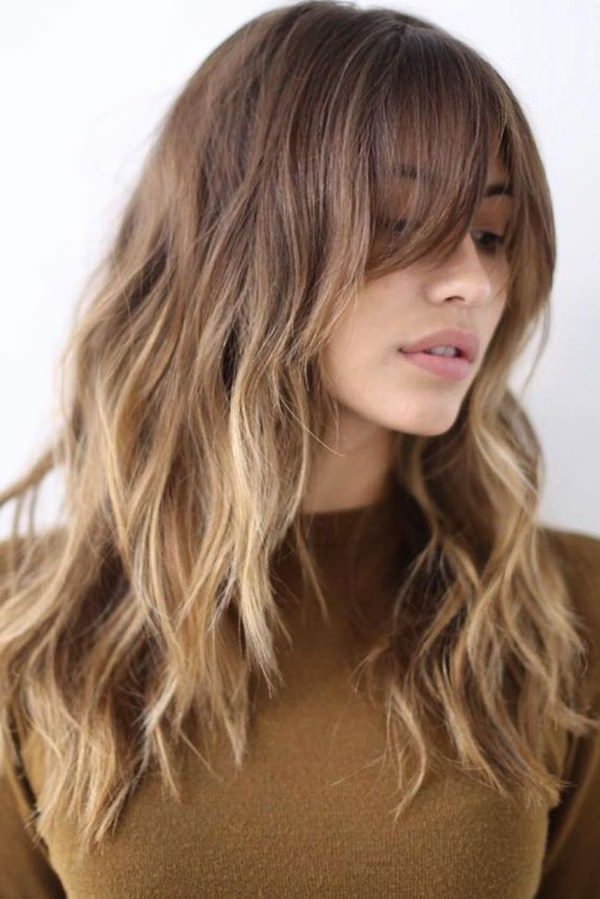 94 Layered Hairstyles And Haircuts For Every Hair Type Within Long Choppy Layered Haircuts With Bangs (View 14 of 25)