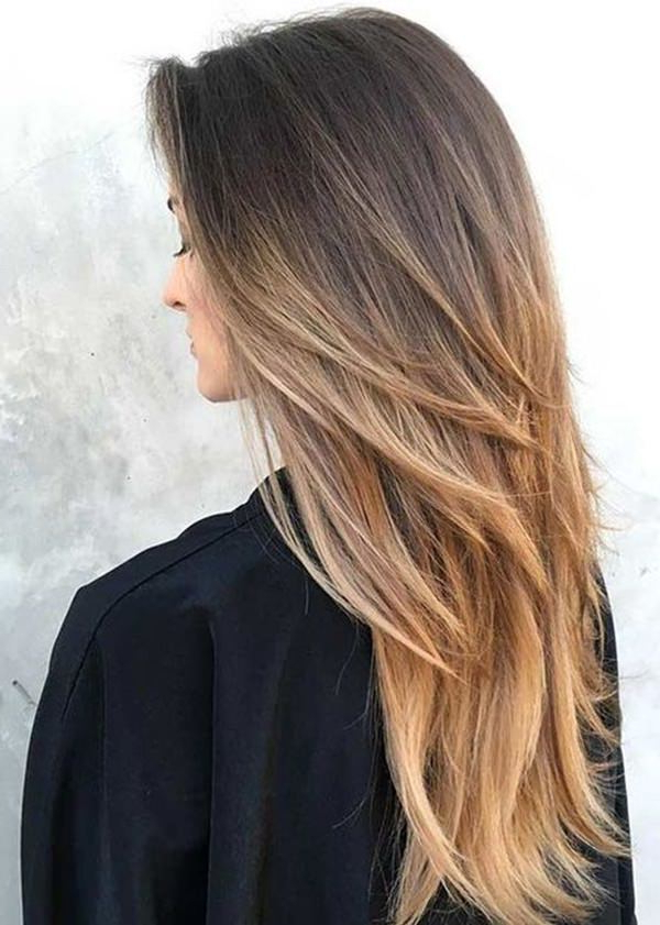 94 Layered Hairstyles And Haircuts For Every Hair Type Within V Cut Layers Hairstyles For Straight Thick Hair (View 11 of 25)